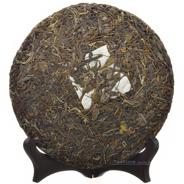 Fengqing Ancient Tree Spring Chun Jian Raw Pu-erh Cake Tea 2012