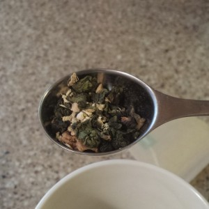 Soul Good apple cider oolong