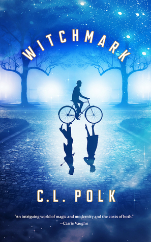 The cover for Witchmark, the debut novel of C.L. Polk