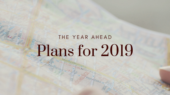 The year ahead - plans for 2019